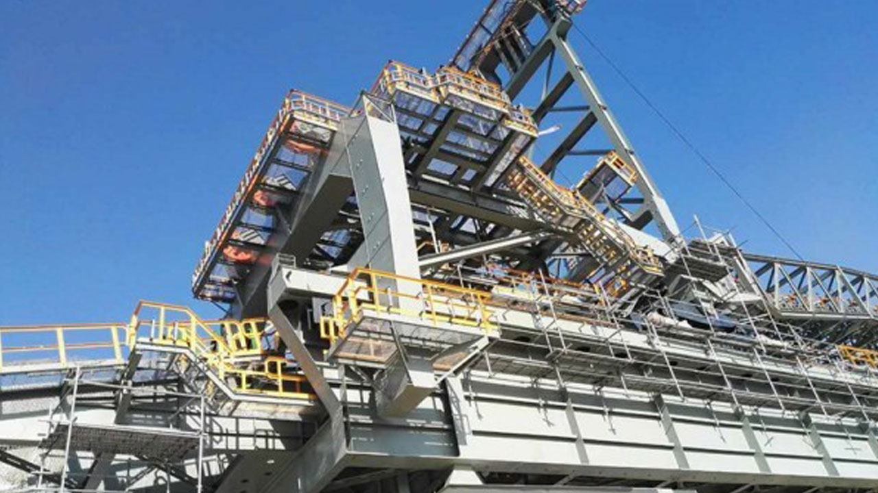 NTPC Triveni Sandvik India – Electro Forged Gratings for Slewing, Reclaimers, Stackers, Conveyors & Primary Slizzer Station.